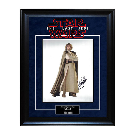 Signed Artist Series // Luke Skywalker II