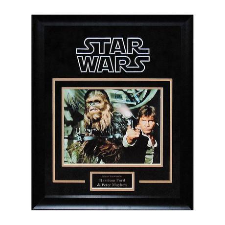 Signed Artist Series // Han Solo + Chewbacca II