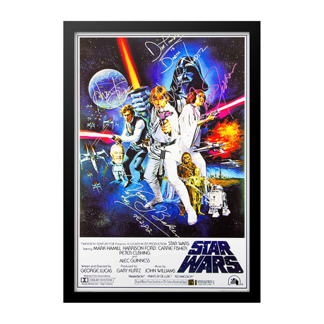 Signed Movie Poster // A New Hope // Poster I