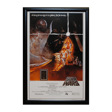 Signed Movie Poster // A New Hope // Poster II