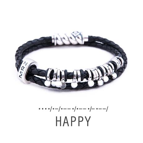 Silver Bracelet Magellan // Happy