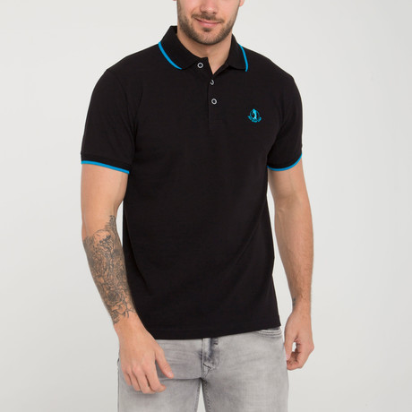 Radius Polo Shirt // Black