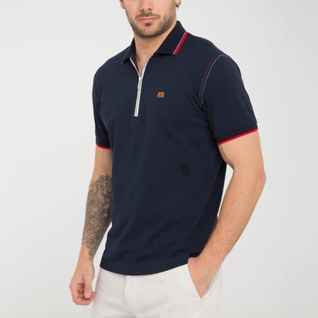 Axel Polo Shirt // Navy