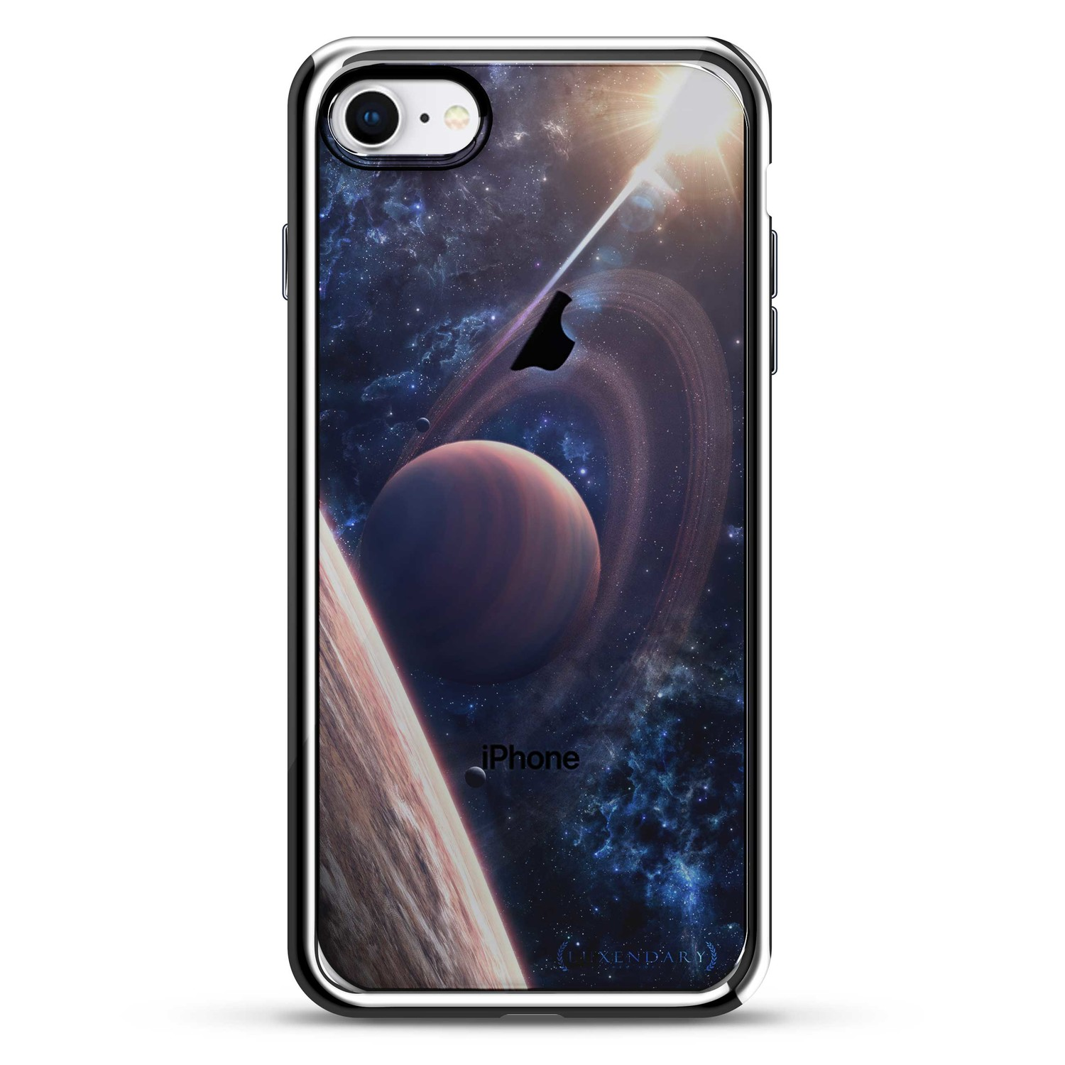moons of saturn iphone 6 6s luxendary chrome. Black Bedroom Furniture Sets. Home Design Ideas
