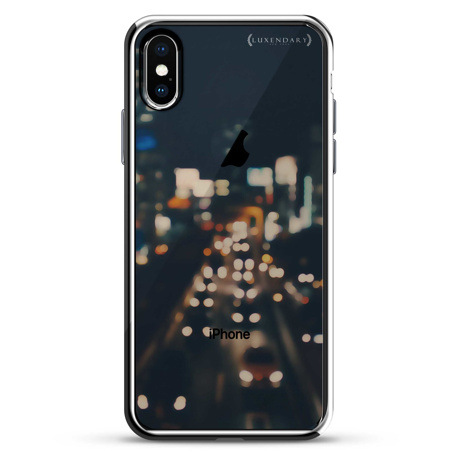 Highway Road Trip Lights Iphone 6 6s Plus Luxendary Chrome Case Led