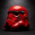 Crimson Stromtrooper Helmet