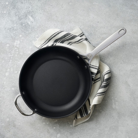 "Toughened Nonstick Deep Fry Pan (11"")"