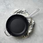 "Toughened Nonstick Deep Fry Pan (11"")"