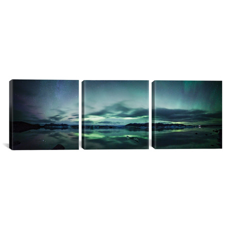 Aurora Borealis Panorama // Iceland // Matteo Colombo