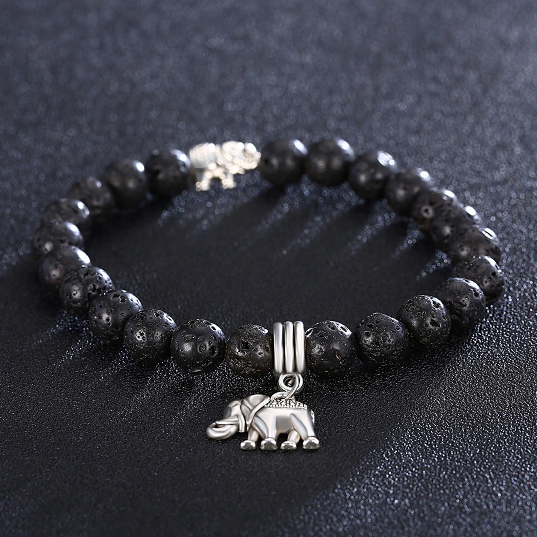 Volcano Chakra Bracelet Lucky Elephant Bracelet - Rubique - Touch of