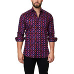 Luxor Check Dress Shirt Dress Shirt // Pink (XS)