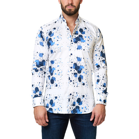 Luxor Desigual Splash Dress Shirt // White (S)