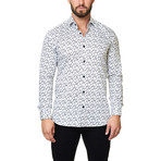 Luxor Funky Gun Dress Shirt // White (XS)