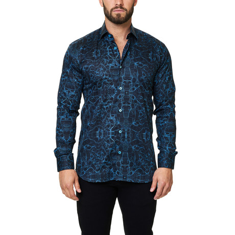 Luxor Webspread Synapse Dress Shirt // Black (3XL)