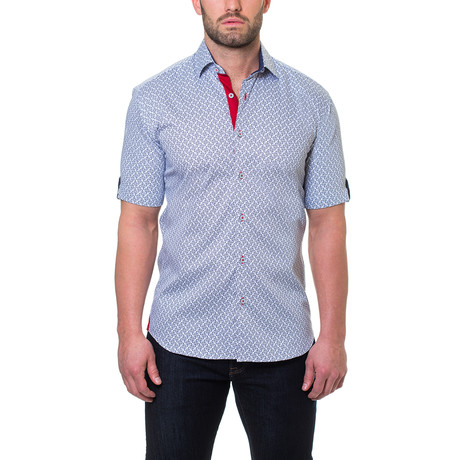 Fresh Ripple Dress Shirt // Grey
