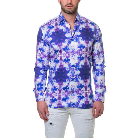 Luxor Smoky Dress Shirt // Purple