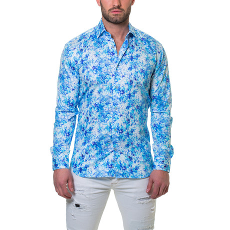 Luxor Dress Shirt // Noisey Blue (S)