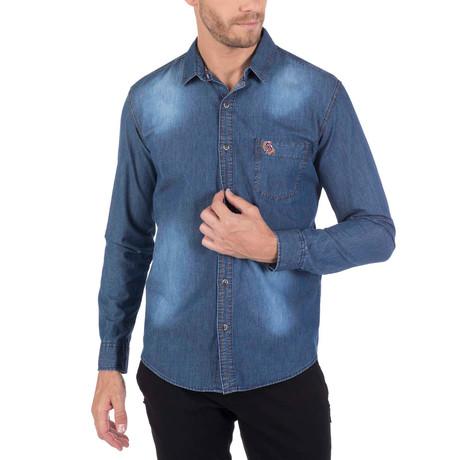 Titus Denim Shirt // Blue
