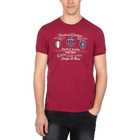 Zane T-Shirt // Bordeaux