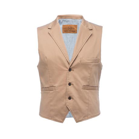 Cooper Vest // Tan (XS)