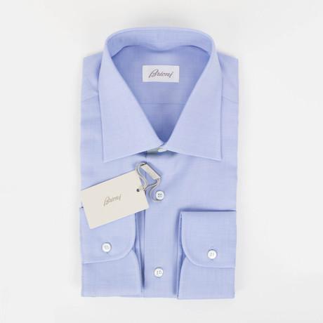 Cotton Slim Fit Dress Shirt // Light Blue