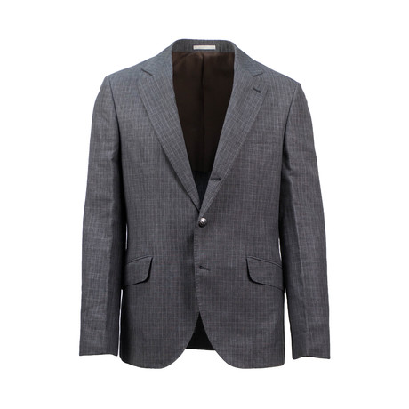Wool Blend Sport Coat // Gray (Euro: 44)