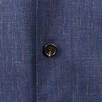 Wool Blend Sport Coat // Blue (Euro: 44)