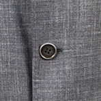 Wool Blend Unstructured Sport Coat // Gray (Euro: 44)