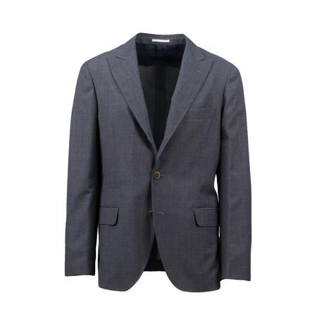 Wool Unstructured Sport Coat // Gray