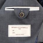 Wool Unstructured Sport Coat // Gray (Euro: 44)