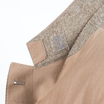Wool Blend Sport Coat // Tan (Euro: 44)