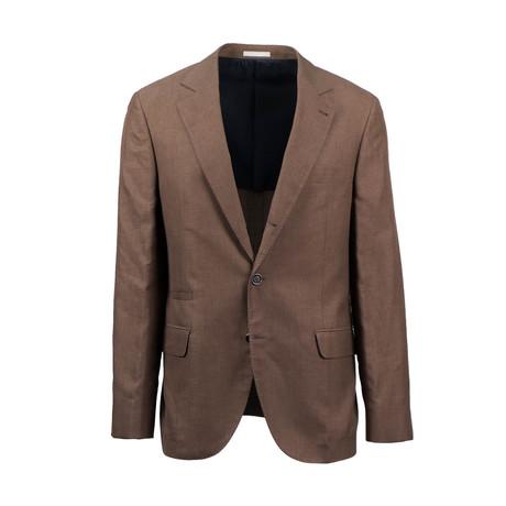Wool Blend Unstructured Sport Coat // Mink (Euro: 44)