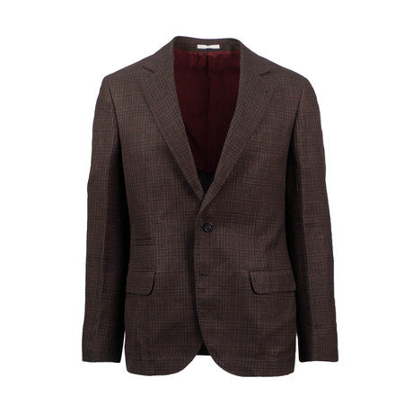 Wool Blend Sport Coat // Brown (US: 48R)