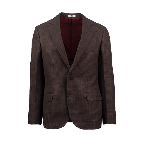 Wool Blend Sport Coat // Brown (Euro: 44)
