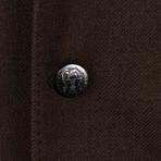 Wool Blend Unstructured Sport Coat // Brown (Euro: 44)