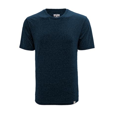 S/S Mirge T-Shirt // Heather Navy