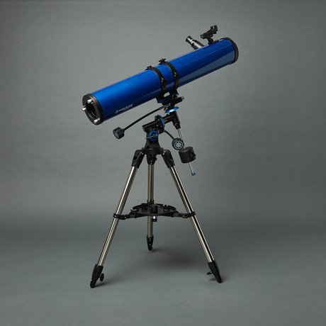 Polaris 114 Reflecting Telescope + Smart Phone Adapter + Carry Bag