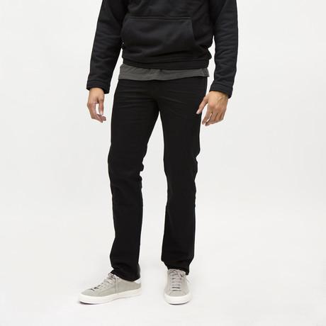 Crenshaw Slim Jeans // Basic Black