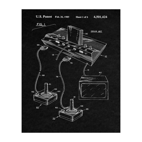 Video Game System Patent