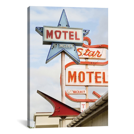"Motel // Honeymoon Hotel (12""W x 18""H x 0.75""D)"