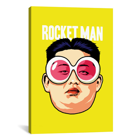 "Rocket Man // Butcher Billy (26""W x 18""H x 0.75""D)"