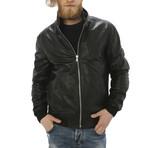 London Leather Jacket // Black (XL)