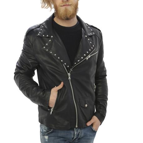 Kennedy Leather Jacket // Black (S)