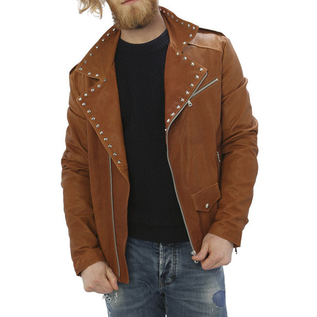 Kennedy Leather Jacket // Leather (S)