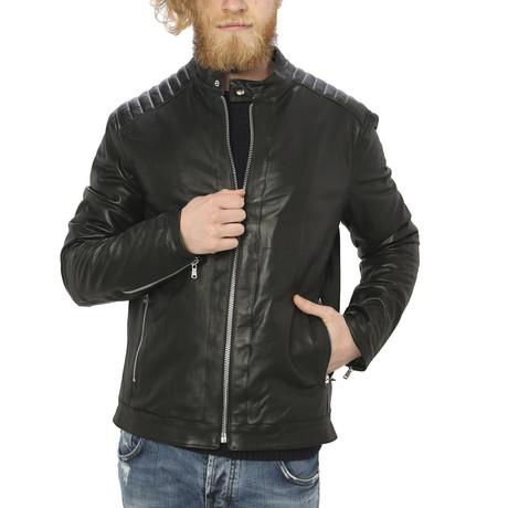 Arlo Leather Jacket // Black (S)