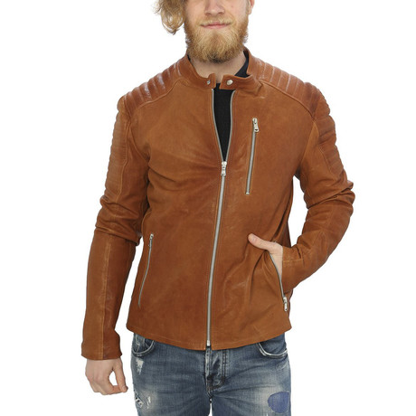 Holden Leather Jacket // Leather (S)