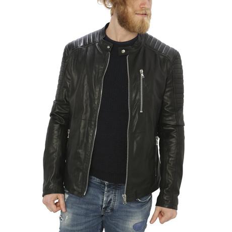 Holden Leather Jacket // Black (M)