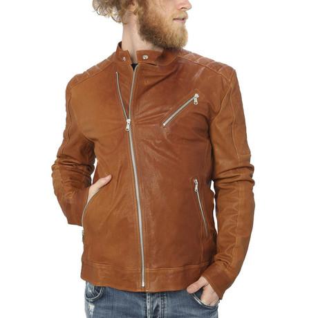 Milo Leather Jacket // Leather (S)