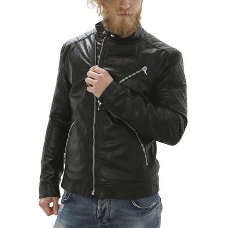 Milo Leather Jacket // Black (S)