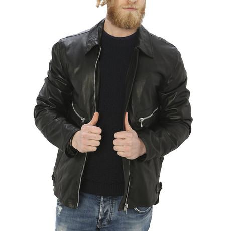 Pax Leather Jacket // Black (S)